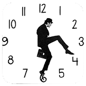 Ministry of Silly Walks Clock