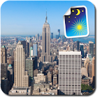 New York City Night & Day Free icon