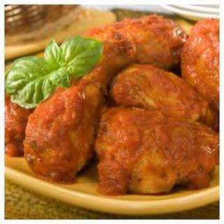1-2-3 Chicken Cacciatore