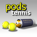 Pods Tennis logo