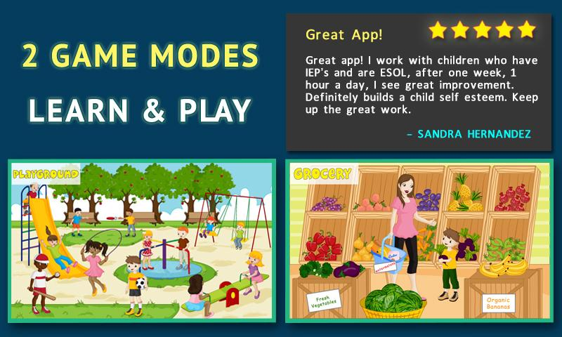 Words For Kids: Reading Games - screenshot