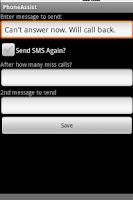 Screenshot of Phone Assistant