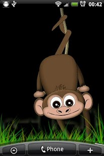 Monkey Live Wallpaper - screenshot thumbnail