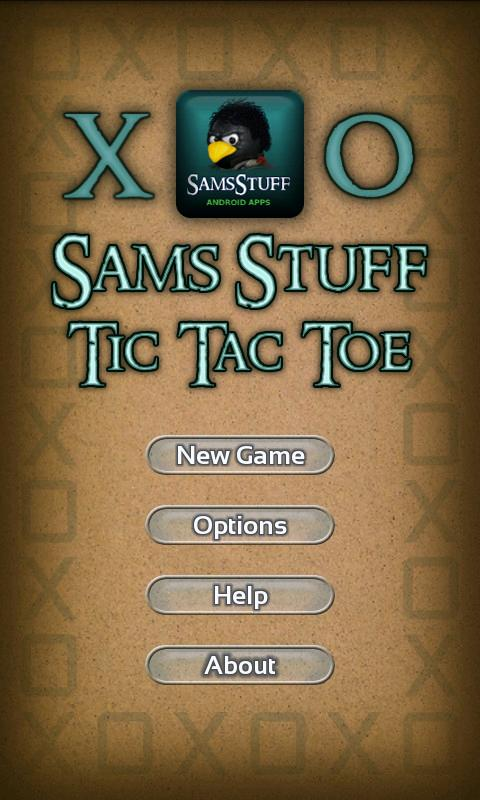 Tic Tac Toe 4 Themes Sams - screenshot