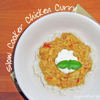 Slow Cooker Chicken Curry.