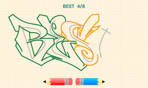 How to Draw Graffitis 5.0 screenshots 4