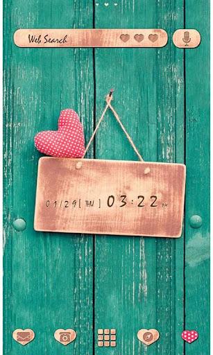かわいい壁紙・アイコン-message of LOVE-無料