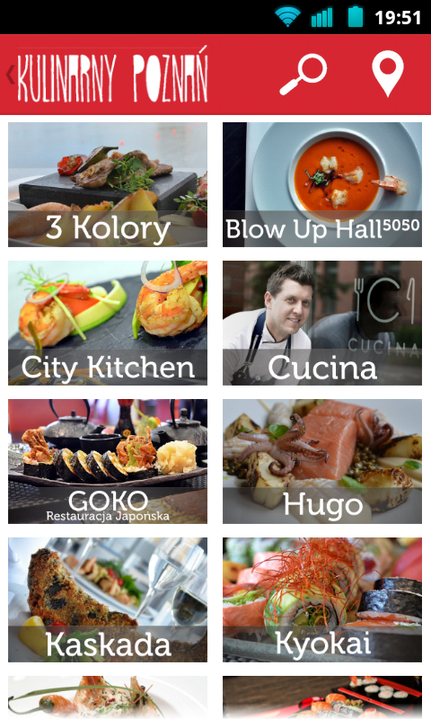 Kulinarny Poznań- screenshot