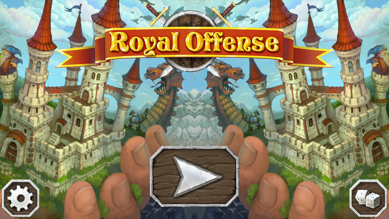 Royal Offense- screenshot