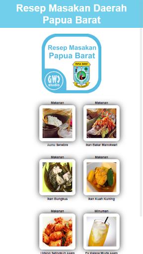 Resep Masakan Papua Barat