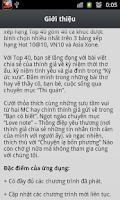 Screenshot of Xone FM Top 40 Cực Hay