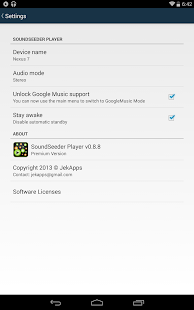 SoundSeeder Music Player Screenshot 19