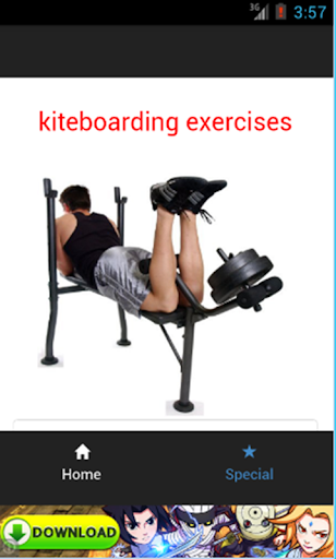 kiteboarding exercises