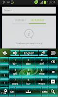 Screenshot of Galaxy Keyboard