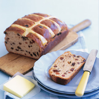Hot Cross Bun Loaf
