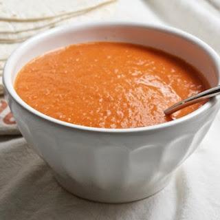 Creamy Habanero & Tomato Soup.