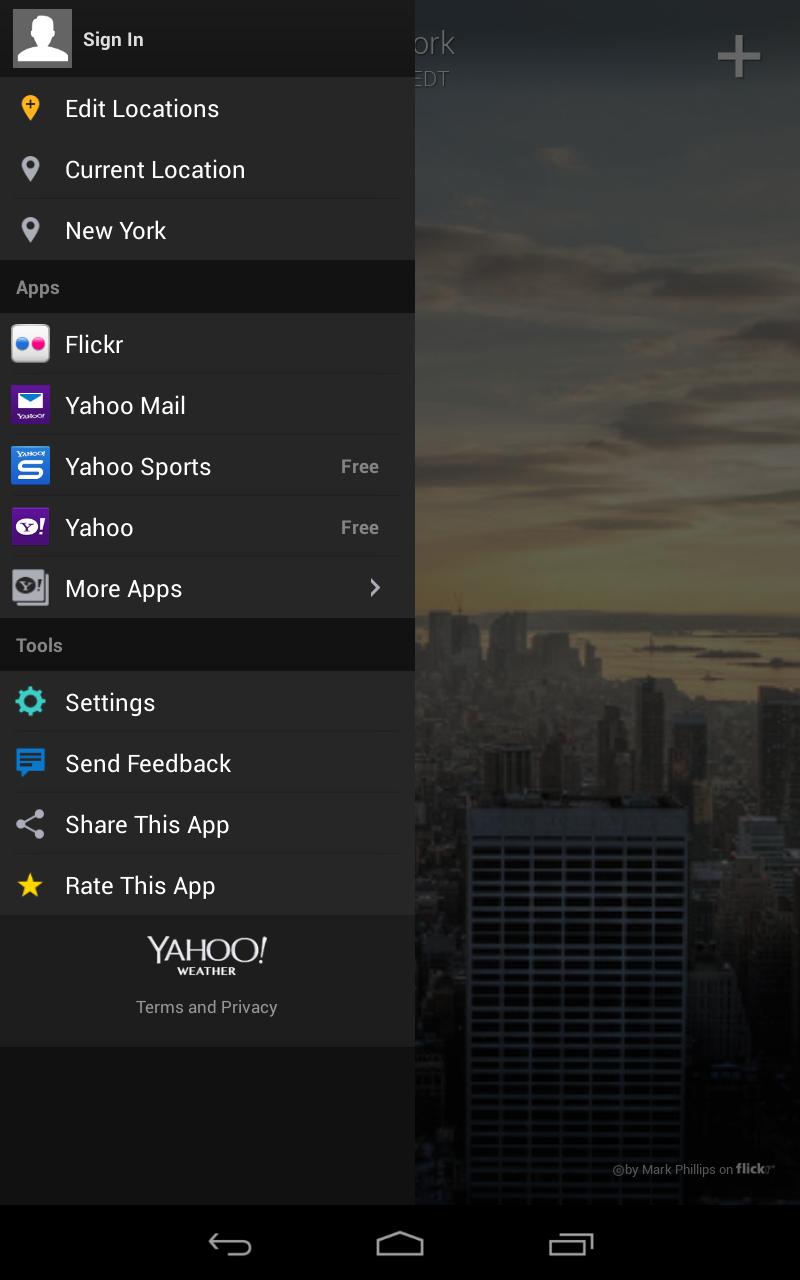 Yahoo Weather screenshot #17