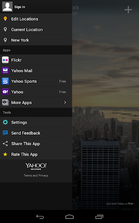 Yahoo Weather 1.3.9 screenshot 2127