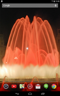 Fountains Live Wallpaper- screenshot thumbnail