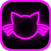 Kitty Cat Clicker Neon