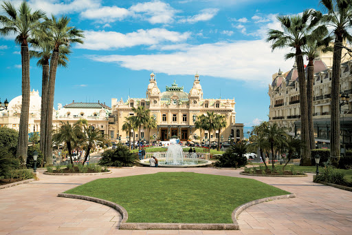Monte-Carlo-Grand-Casino - The Grand Casino in Monte Carlo, one of the stops on your Paul Gauguin cruise aboard Tere Moana.