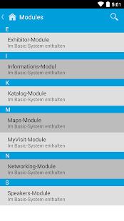 EventApp360 - náhled