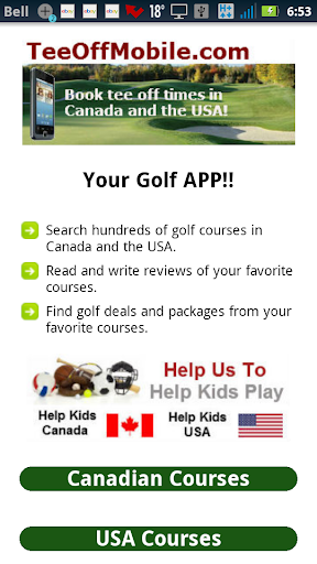 New Brunswick Golf Courses