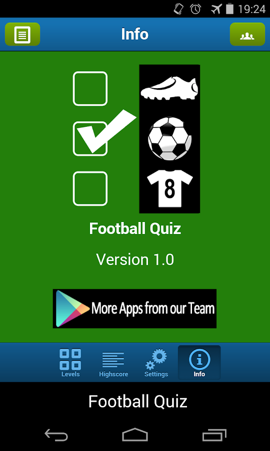 Football Quiz - screenshot