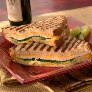 Turkey, Spinach and Colby-Jack Panini