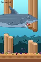 Screenshot of Flappy Fish