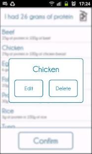 Protein Tracker- screenshot thumbnail