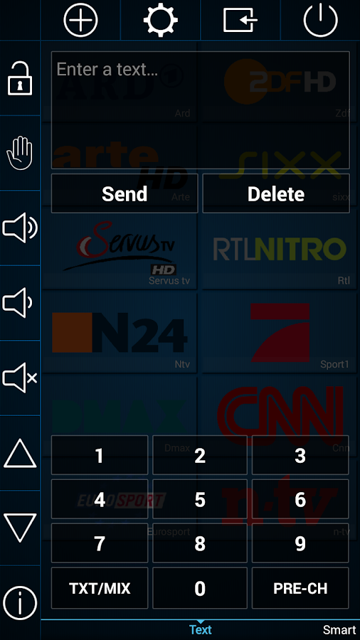 Smart TV Remote - screenshot