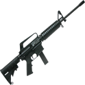 AR-15 machine-gun icon
