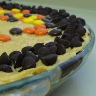 Chocolate Kiss Peanut Butter Pie