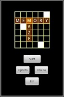 Screenshot of Memory Maze