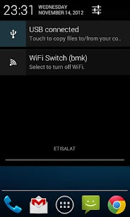 WiFi Status Bar Switch - screenshot thumbnail