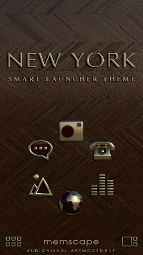 Smart Launcher Theme New York