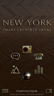 Smart Launcher Theme New York