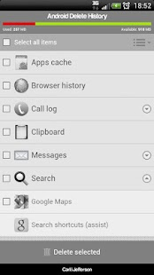 Android Delete History PRO - screenshot thumbnail