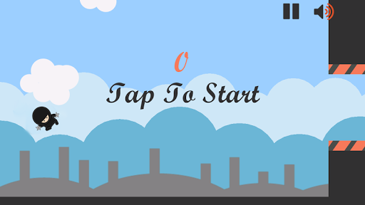 Flappy Ninja ☆ Free Game