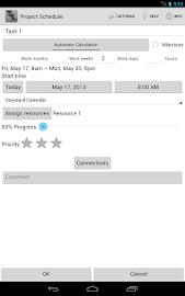 Project Schedule Screenshot 13