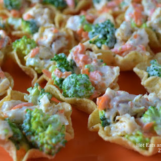 Dilly Chicken and Veggie Cups