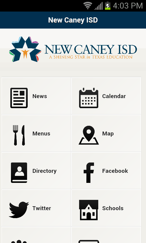 New Caney ISD- screenshot