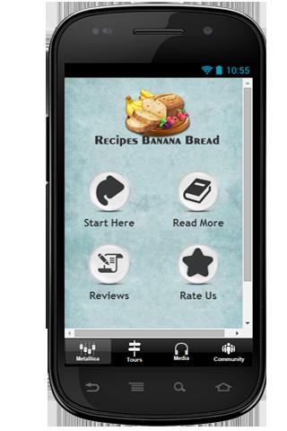Recipes Banana Bread Tip
