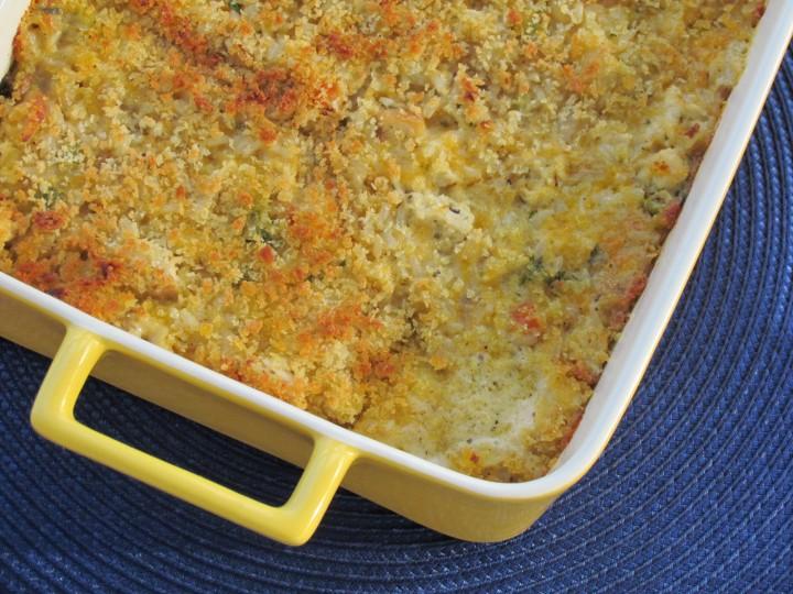 Chicken, Brown Rice, and Veggie Casserole Recipe