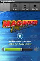 Screenshot of MAGNUM LA RADIO