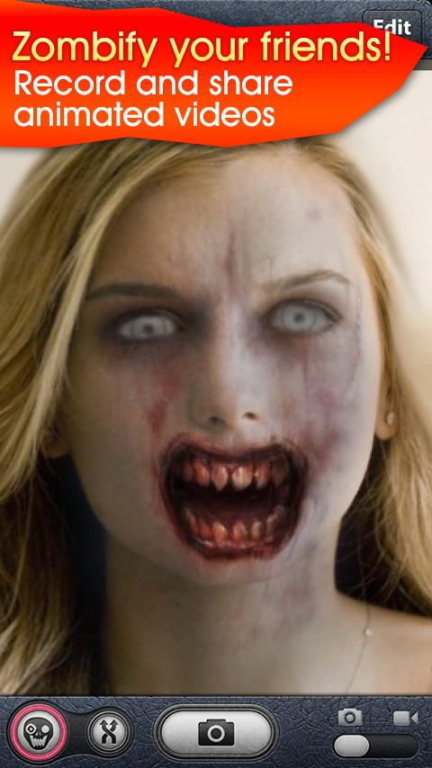 ZombieBooth: captura de pantalla