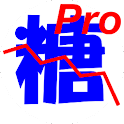 血糖値 Pro logo