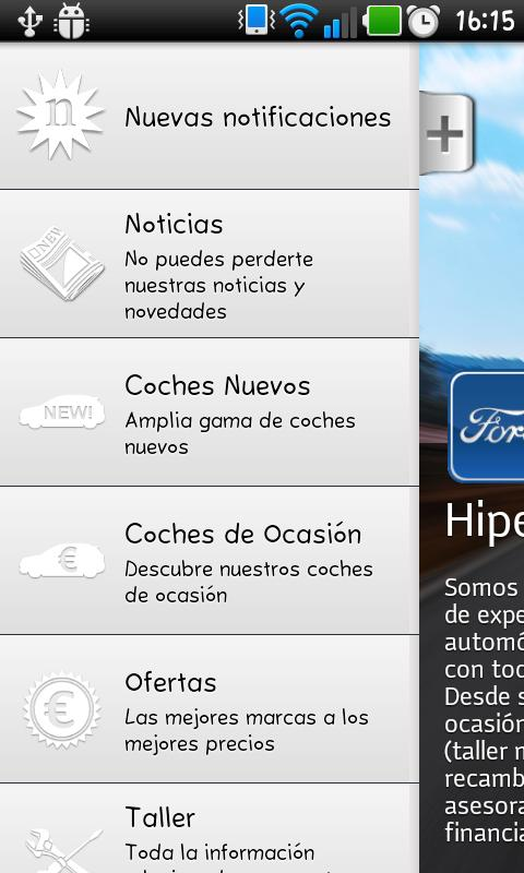 Hiperauto Coria- screenshot