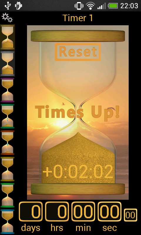Sand Timer- screenshot